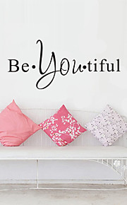 AOFU Words & Quotes Wall Stickers Plane Wall Stickers Decorative Wall Stickers,Home Decoration Wall Decal AF204
