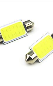 10st auto styling 36mm 3W auto LED slinger lichte cob auto led-lampen auto licht (12V)