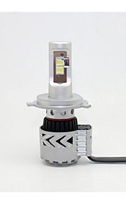 H4 72W 12000LM CREE LED Headlight Kit Lo or Hi Beam Bulb 6500K Car Motorcycle