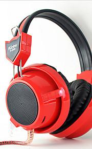 Kubite T-K02 Hoofdtelefoons (hoofdband)ForComputerWithmet microfoon / Volume Controle / Gaming / Ruisverminderend