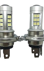 2PCS Germany Car Models H4 20W 4014 42SMD PMMA Lens Silver Housing H4 LED Headlight H4 Low Beam LED Headlight