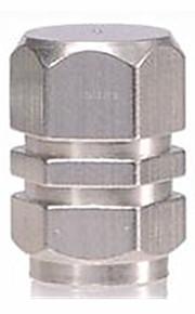 bildæk ventilhætten rustfrit stål personlighed gas dyse cap
