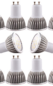 5W GU10 / GU5.3(MR16) / E26/E27 Spot LED MR16 16 SMD 5730 480 lm Blanc Chaud / Blanc Froid Gradable / DécorativeAC 110-130 / DC 12 / AC