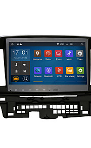 Android 5.1.1 2 din 10.2'quad kern 1024 * 600 auto gps stereo radio voor Mitsubishi Lancer ex wifi bluetooth spiegel koppeling