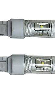 2 piezas de sección más destacado 30w 6 chip para coche especial corola llevada de vuelta de la lámpara de señal, luz de freno del coche,