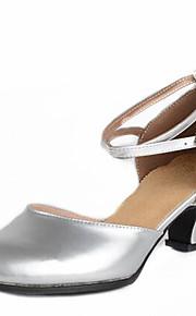 Sapatos de Dança(Prateado / Dourado / Fúcsia) -Feminino-Não Personalizável-Latina / Moderna