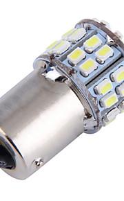 4pcs 1156 50smd freno del coche de 1206 Reserse luces antiniebla intermitentes blanco Bombilla de estacionamiento (12V CC)