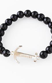 Bracelet Strand Bracelet Alloy Circle Fashion Wedding Jewelry Gift Black,1pc