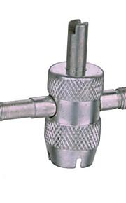 una válvula de cuatro de hardware de la válvula destornillador herramienta llave núcleo de reparación de neumáticos de automóviles