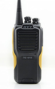 Hytera tc 610 håndtag radio 16 kanal 5w protable radio HYT tc-610 vandtæt walkie talkie