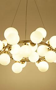 3 Vedhæng Lys ,  Moderne / Nutidig Galvaniseret Feature for Ministil Metal Stue / Soveværelse / Spisestue