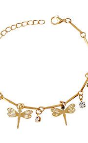 Bracelet Charm Bracelet Alloy Animal Shape Fashion Jewelry Gift Gold,1pc