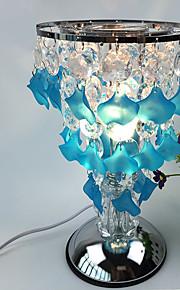 1pc hængende perle berøringsfølsomme lampe slags kronblade flyve dekorativ lampe gave