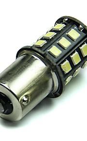 2pcs 1156 33smd 2835 Lampadina segnale lampada girata / retromarcia della lampada / luce della coda bianca dc12v