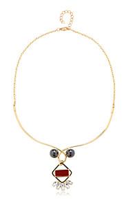 Colliers Tendance Pendentif de collier Bijoux Quotidien A la Mode Alliage Doré 1pc Cadeau