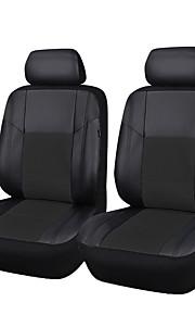 6 stuks pu leer universele auto stoelhoezen geschikt voor de meeste autostoel