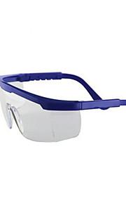 lunettes de poussière (les lunettes de protection ht2501 bleu plateau de miroir, deux paires d'une vente)