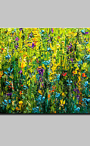 Hand Painted Modern Abstract Flowers Oil Painting On Canvas Wall Art Picture With Stretched Frame Ready To Hang 80x120cm