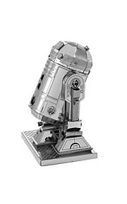 Palapelit 3D palapeli Rakennuspalikoita DIY lelut Robotti 1 Metalli Vaaleanpunainen peli lelu