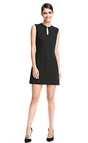 TS Couture® Cocktail Party Dress Sheath / Column Jewel Short / Mini Polyester