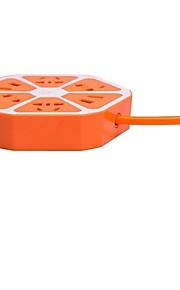 V House Con filo Others USB charging Blu / Viola / Arancione