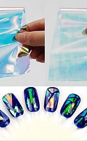 15pcs Nagel-Kunst-Aufkleber Nail Schmuck / 3D Nails Nagelaufkleber Make-up kosmetische Nail Art Design