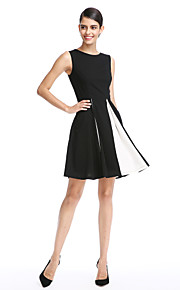 TS Couture® Cocktail Party Dress A-line Jewel Short / Mini Polyester