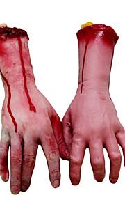 1шт палец кровь руки человек черепных голову Хэллоуин мяч для партии декора