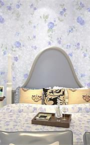 Décoration artistique / 3D Fond d'écran pour la maison Luxe Revêtement , Tissu Non-Tissé Matériel adhésif requis fond d'écran , Chambre