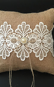 Champagne 1 Ribbons / Rhinestones / Embroidery Linen