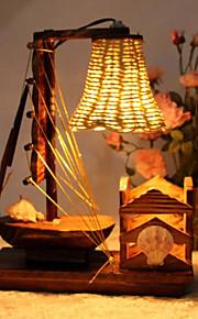 Schreibtischlampen-LED-Rustikal/Ländlich-Holz/Bambus