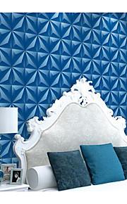 מוצק / 3D טפט עבור בית קלאסי וול כיסוי , PVC/Vinyl חוֹמֶר דבק נדרש טפט , Wallcovering חדר