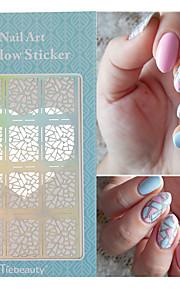 1 Nagel-Kunst-Aufkleber Folie Stripping Band Make-up kosmetische Nail Art Design