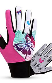 Guantes Deportivos Ciclismo/Bicicleta Mujer Dedos completos Mantiene abrigado / A prueba de viento / Listo para vestir / Transpirable