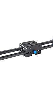 yelangu pro dslr camera spoor dolly slider video stabilisator met 1/4 en 3/8 draad schroef voor alle soorten camera dv