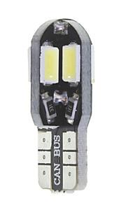 10 x t10 149 W5W 3W CANbus 8x5630smd geleid 300lm leidde auto lamp (6000 - 6500k dc 12 - 16v)