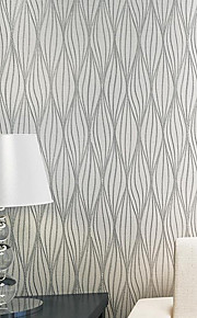 Embossed Leaf Curve Modern Striped 3D Wallpaper Living Room Sofa Tv Wall Decor  Luxury Wall Paper Rolls