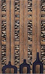 Rayure Fond d'écran pour la maison Contemporain Revêtement , PVC/Vinyl Matériel adhésif requis fond d'écran , Chambre Wallcovering
