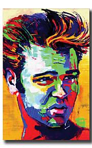 Dipinta a mano Astratto / Riproduzione / Ritratti Dipinti ad olio,Modern / Classico / Stile europeo Un Pannello Tela Hang-Dipinto ad olio