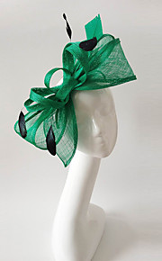 Kentucky Derby Church Races Green Flax Wedding Event Fascinator