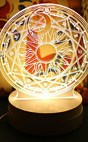 Tischlampen-LED-Neuheit-Plastik