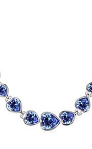 Colliers Tendance Colliers chaînes Bijoux Soirée Mode Alliage Argent 1pc Cadeau