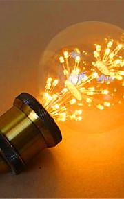 2 E26/E27 LED 글로브 전구 G95 49 딥 LED 800 lm 옐로 장식 AC 220-240 V 1개