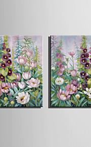 Kasvitiede Canvas Tulosta 2 paneeli Valmis Hang,Pysty
