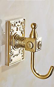 selbstklebend mit 3m zurück Aufkleber goldenen Haken 6pcs / set yg6pc-2 Kleiderhaken