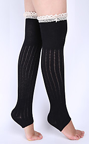 Women's Winter Knitting Warm Lace Cotton Knit Set Of Leg Warmers