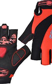 Guantes Deportivos Bicicleta Guantes sin dedos TodoA prueba de resbalones / Tirador easy-off / Listo para vestir / A Prueba de Golpes /
