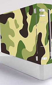 couverture d'autocollant de protection autocollant console wii de la peau du contrôleur de la peau