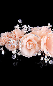 Women's Tulle / Fabric Headpiece-Wedding / Special Occasion / Casual Hair Clip 1 Piece