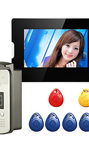 200W 120 CMOS Dørklokke System Trådløs Flerfamiliehuse video dørklokken